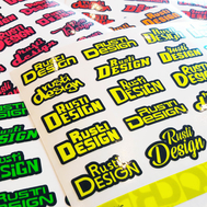 Name fluo decals