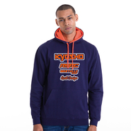 Fluo two-tone hoodie Classic