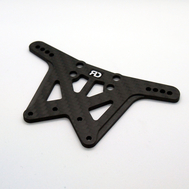 RC10 Rear Graphite Shock Tower V3