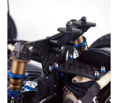 RC10 Rear Graphite Shock Tower V2