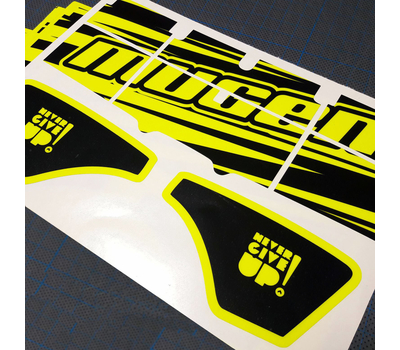 Wing fluo decals